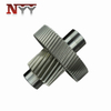 Marine impeller DIN class 6 gear shaft assembly