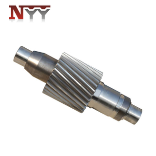 Food and feed machinery 18CrNiMo7-6 carburized gear shaft