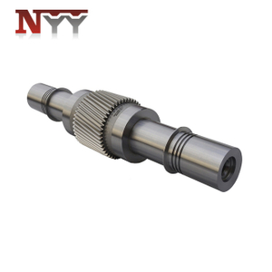 Marine impeller 2nd stage high speed DIN class 5 gear shaft
