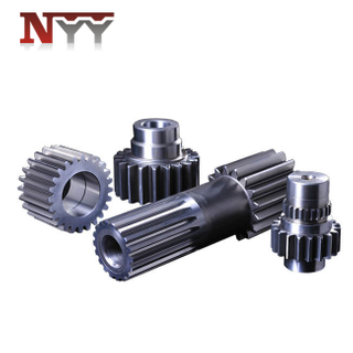Mining machinery gear and gear shaft