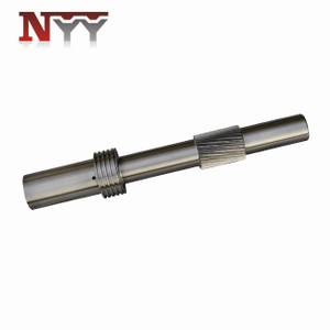 Marine impeller high speed 30000rpm DIN class 5 tooth grinding gear shaft
